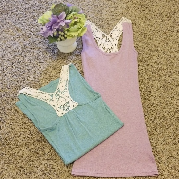 Decree Tops - Pastel Tank top Bundle 💓